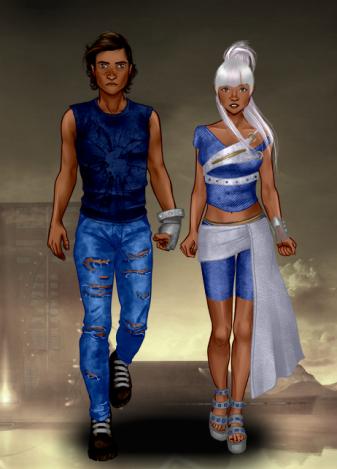 Tahlia&Connor_Rinmaru_postapocalypticduo.jpg